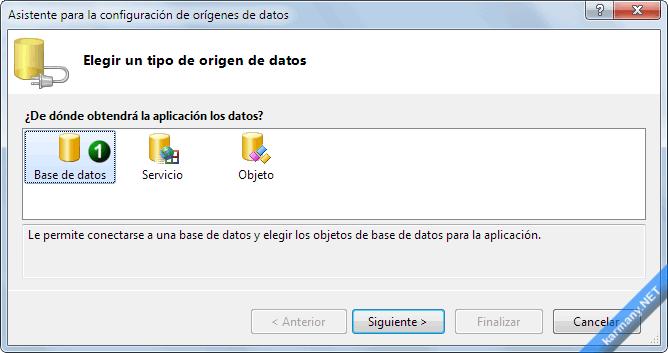 Base de datos con Visual Basic .NET o C# sin escribir ...